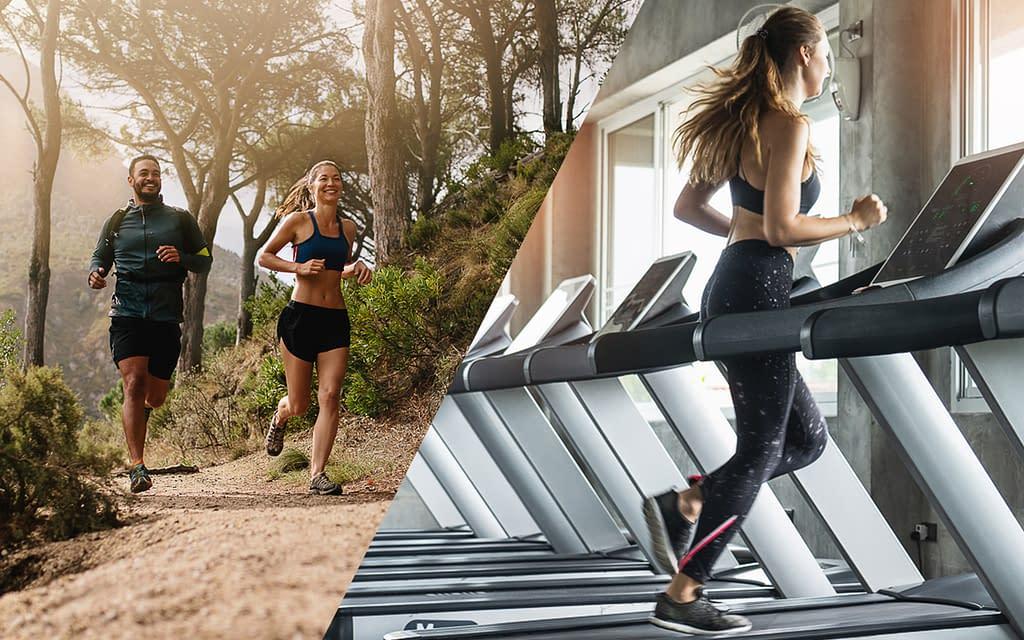 outside running or treadmill running