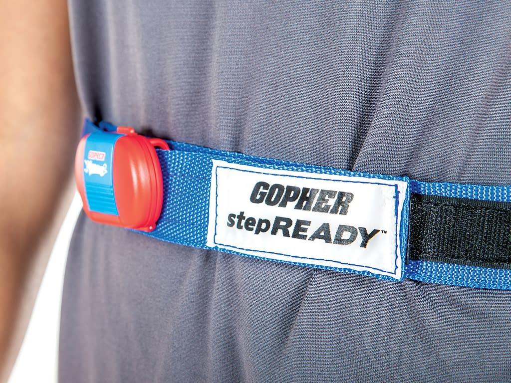 step ready pedometer belt