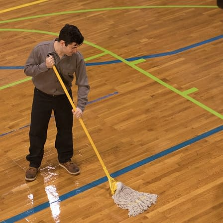 mopping floor physical activity