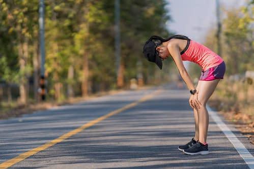 runner tired