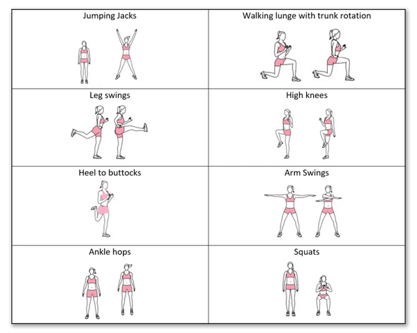 importance of warm up