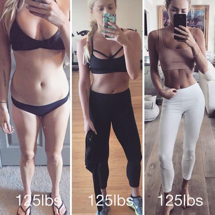 same weight fat free mass vs lean muscle mass